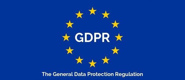 Logo de General Data Protection Regulation sobre privacidad y GDPR