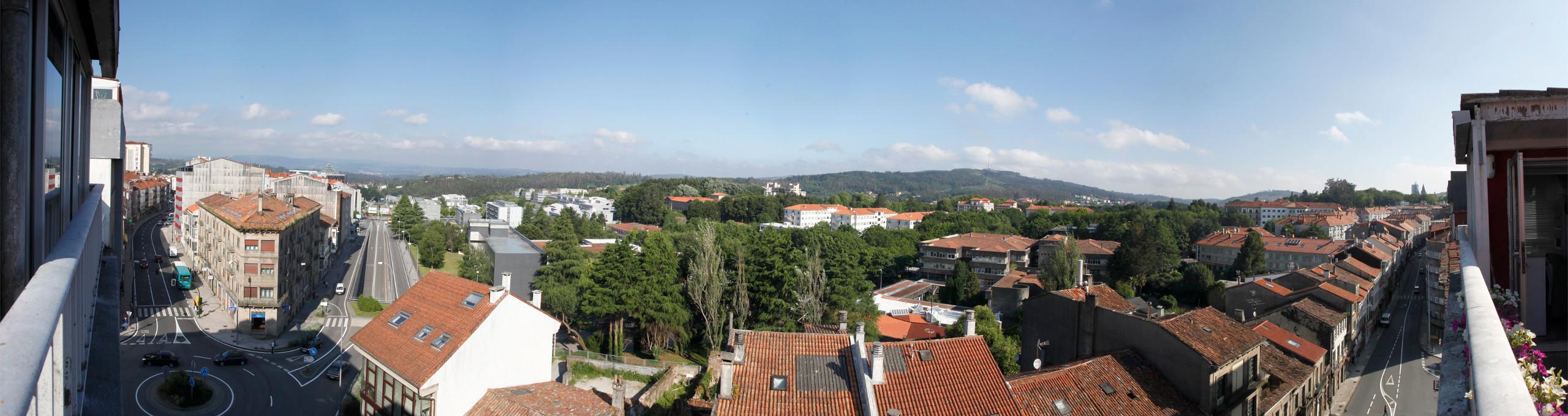 Residencia de Estudiantes en Santiago de Compostela con vistas a Campus Sur