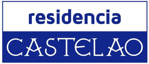 Logotipo residencia de estudiantes Castelao en Santiago de Compostela.